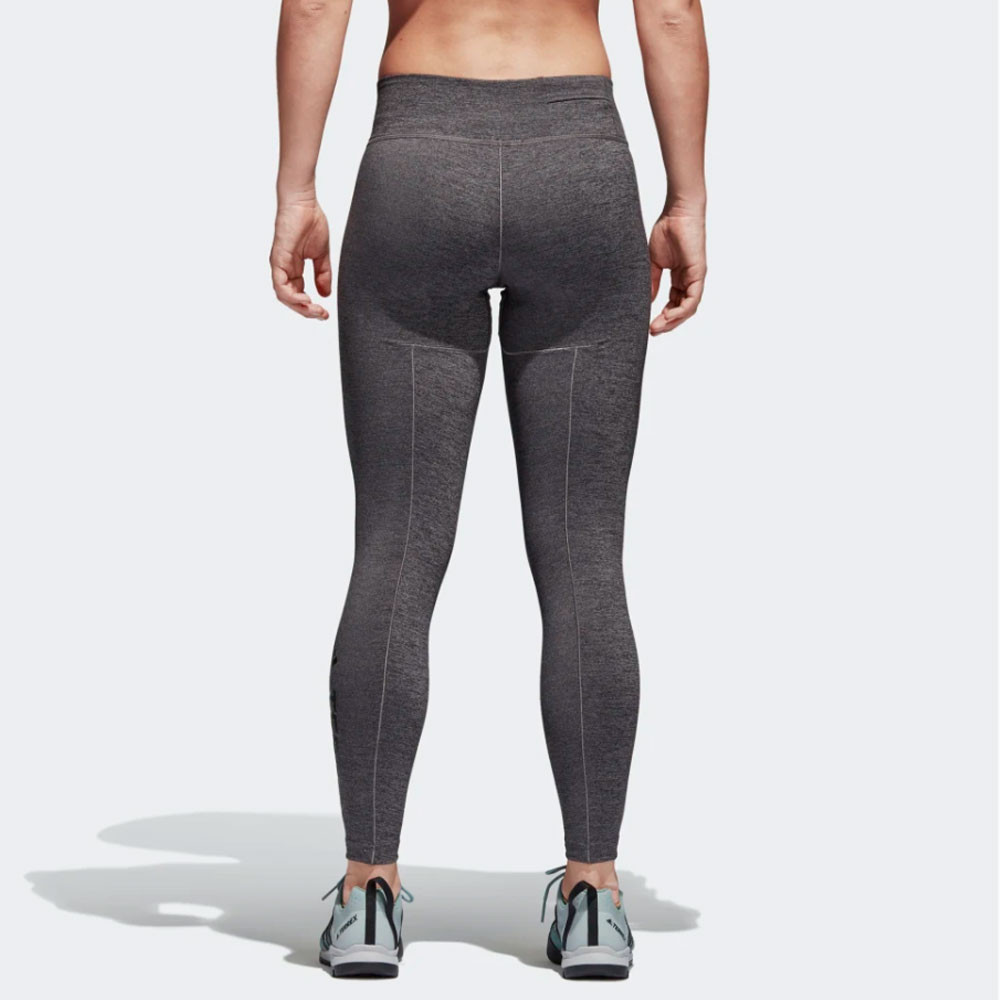 Detalles de adidas Mujer Climb The City Mallas Pantalones Gris Deporte Gimnasio