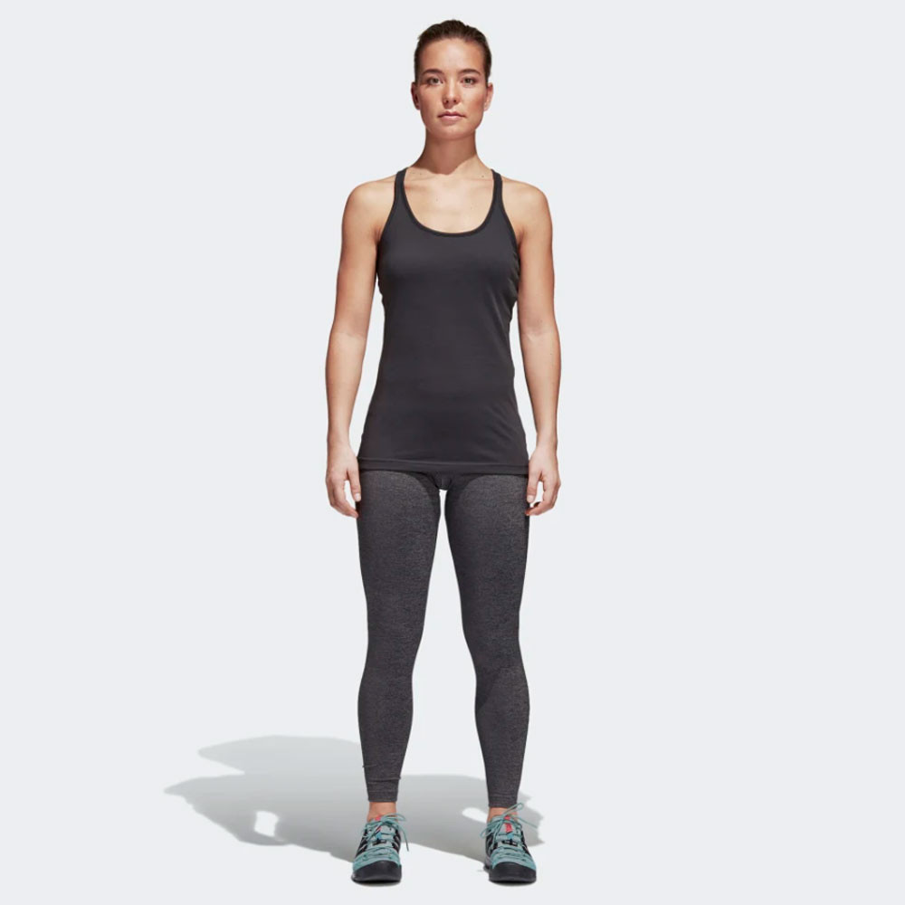 Details about adidas Womens Climb The City Tights Bottoms Pants Trousers Grey Sports Gym
