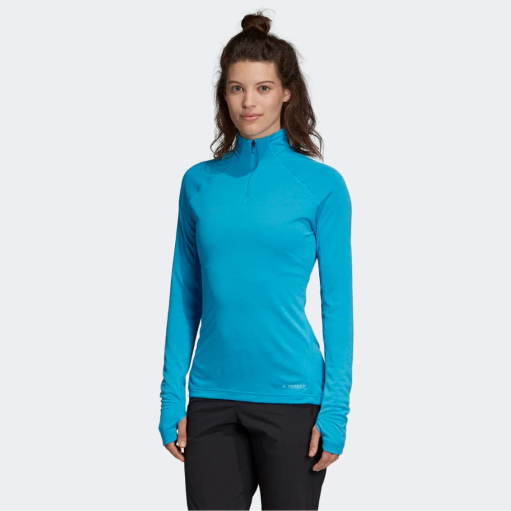 adidas Terrex TraceRocker 1/2 Zip Women's Top - SS19