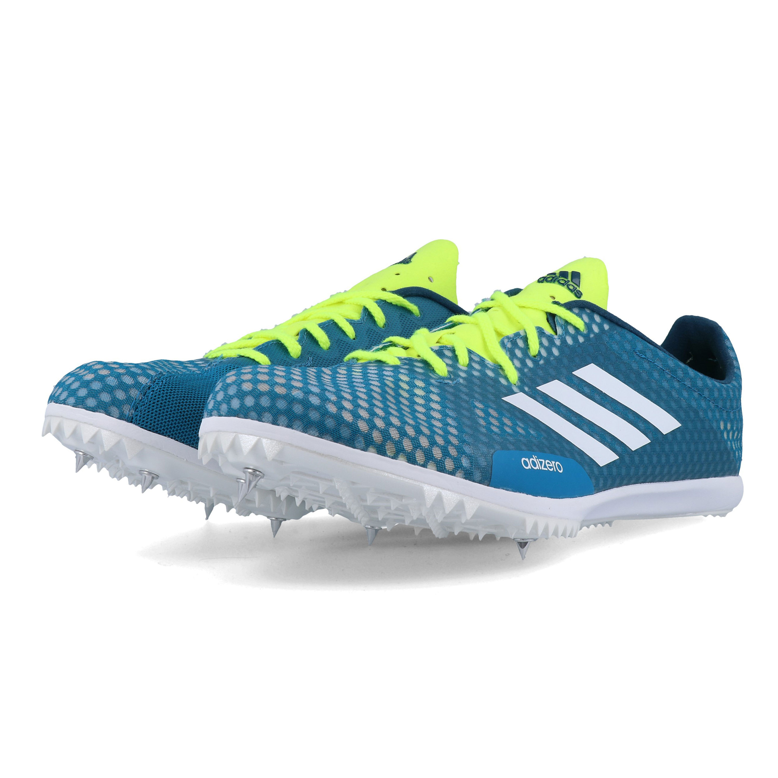 Details about adidas Mens Adizero Ambition 4 Running Spikes Traction Blue Sports Breathable
