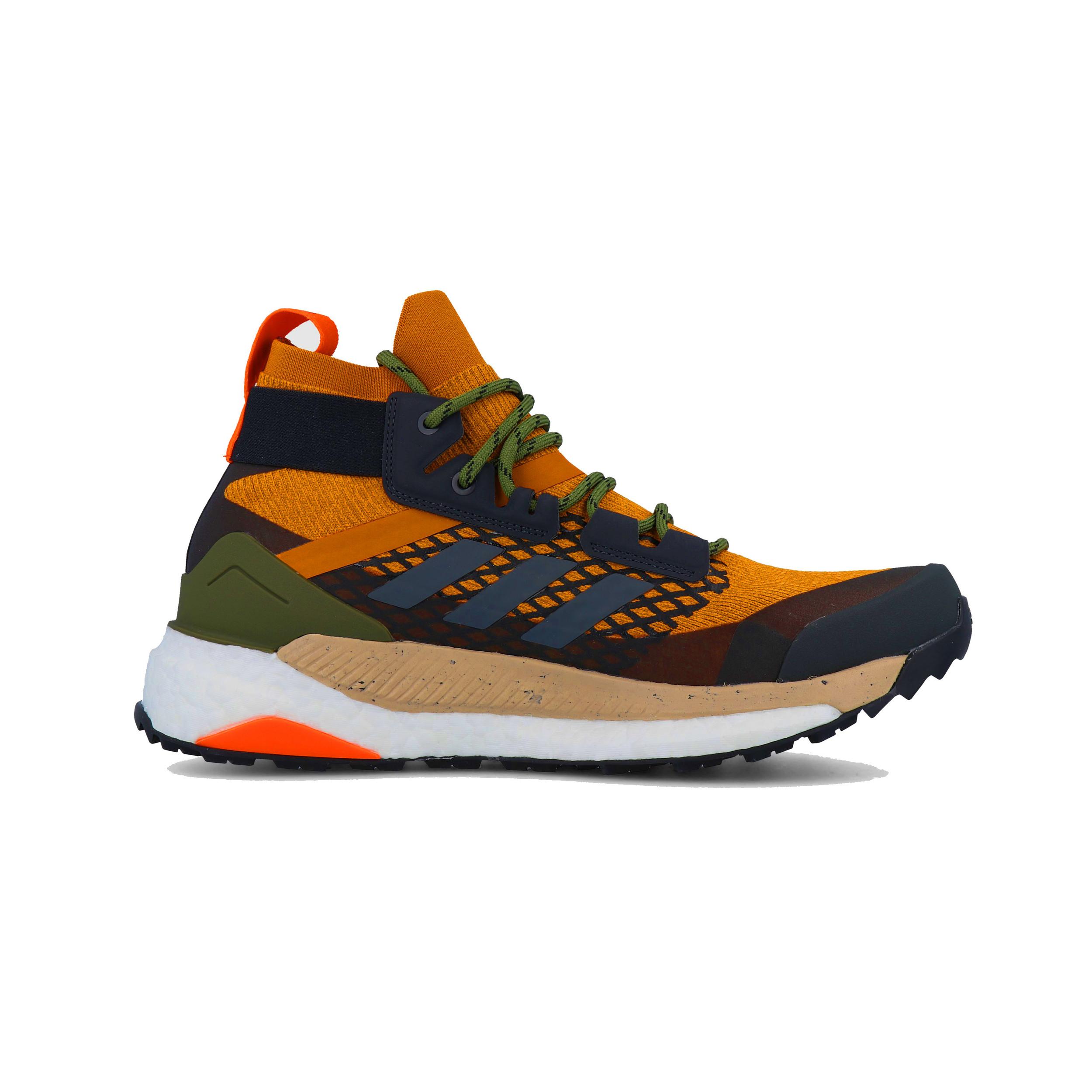 ef94f0c85c Details about adidas Mens Terrex Free Hiker Walking Shoes Black Orange  Sports Outdoors Water