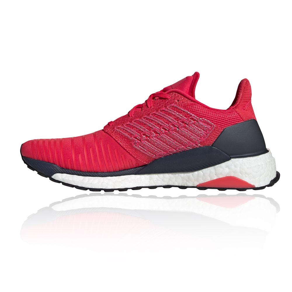 Detalles de adidas Hombre Solar Boost Correr Zapatos Zapatillas Rosa Deporte Transpirable