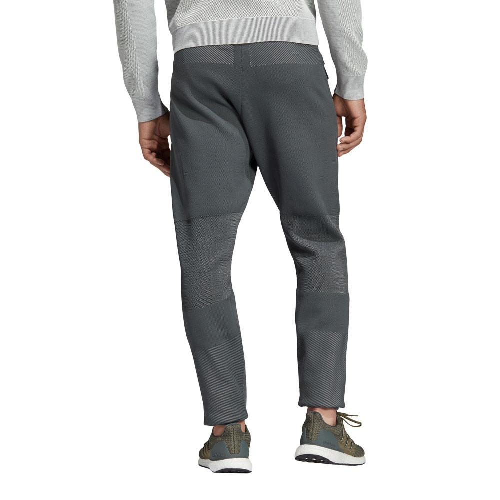 Details zu adidas Herren Z.N.E. Primeknit Training Hose Lange Jogginghose Grau Sport Gym