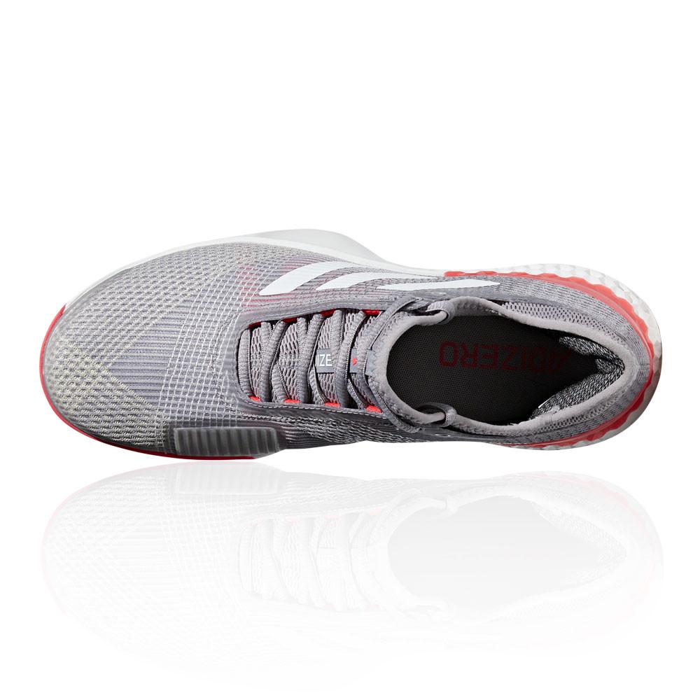 Details zu adidas Herren adizero Ubersonic 3 Clay Tennis Schuhe Sneaker Grau Orange Weiß