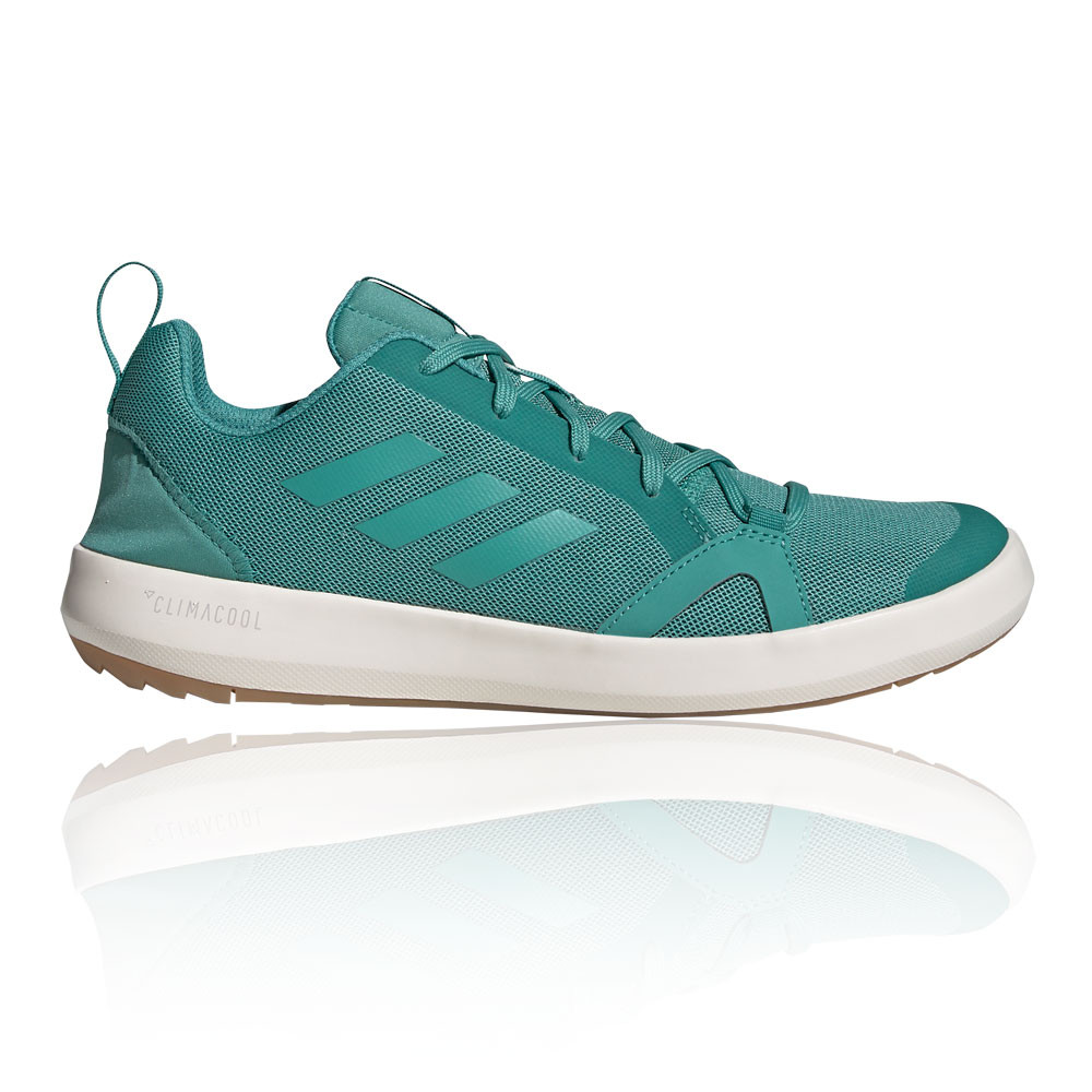 Details zu adidas Mens Terrex CC Boat Walking Shoes Green Sports Outdoors Breathable
