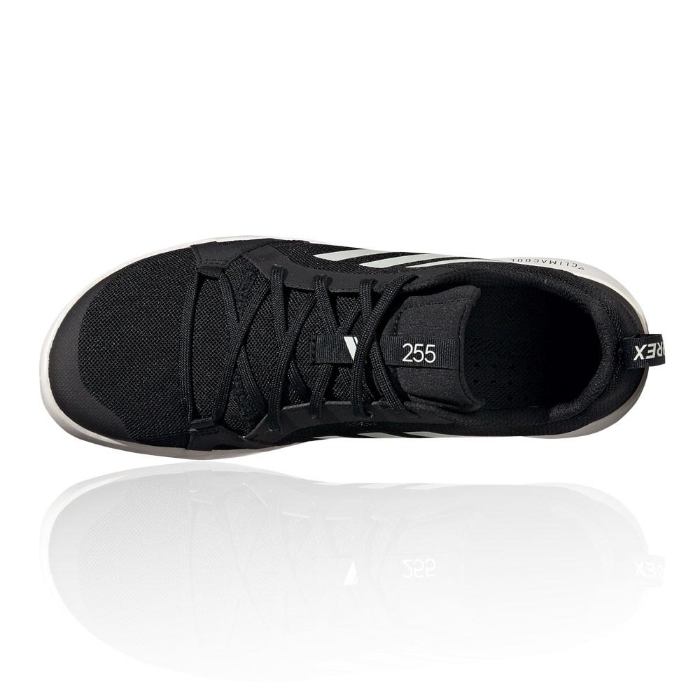 Détails sur adidas Hommes Terrex Cc Boat Chaussure De Marche Randonnée Noir Blanc Sport