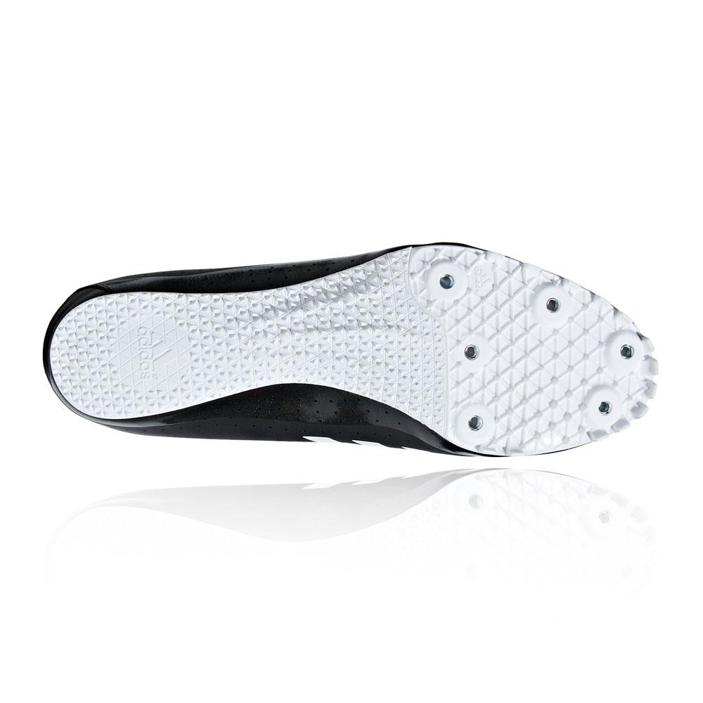 Dettagli su adidas Uomo Sprintstar Corsa Scarpe con Tacchetti Traction Nero Bianco Sport