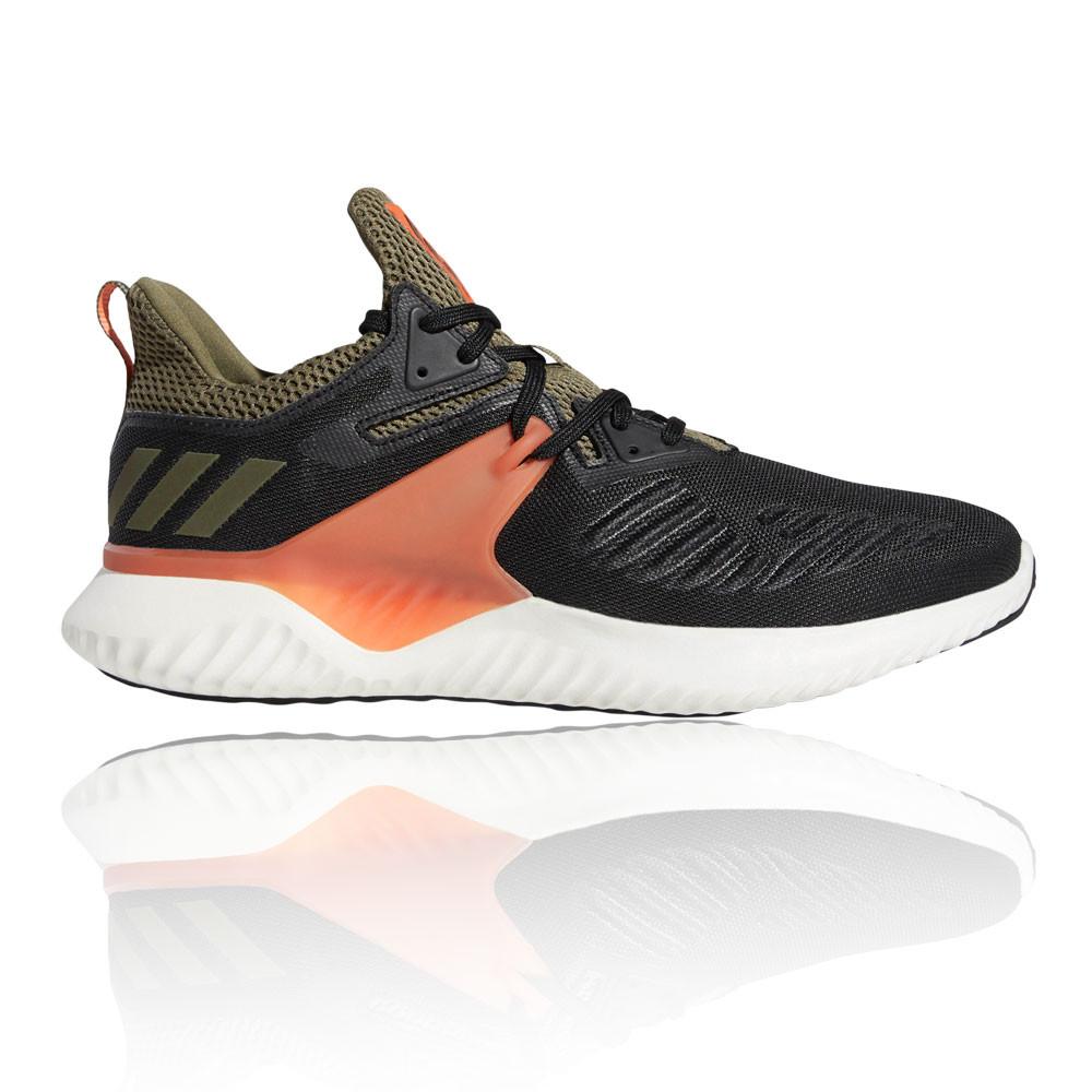 Details zu adidas Herren Alphabounce Beyond 2 Turnschuhe Laufschuhe Sneaker Schwarz Grün