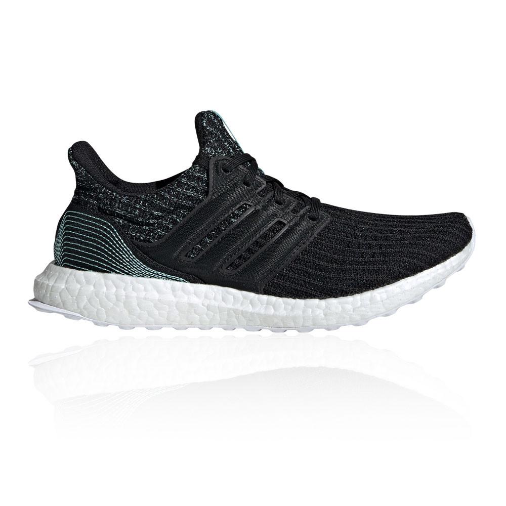 Details zu adidas Damen Ultraboost Parley Turnschuhe Laufschuhe Sneaker Schwarz Jogging