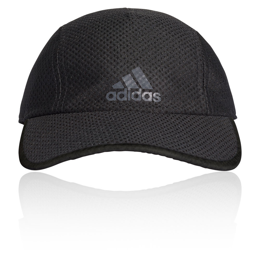 new product 0685e 3485e Details about adidas Mens Run Climacool Cap - Black Sports Running  Breathable Reflective