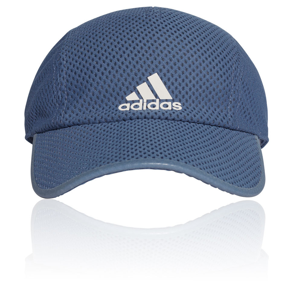 sports shoes 43053 05d37 Details about adidas Mens Run Climacool Cap - Blue Sports Running  Breathable Reflective