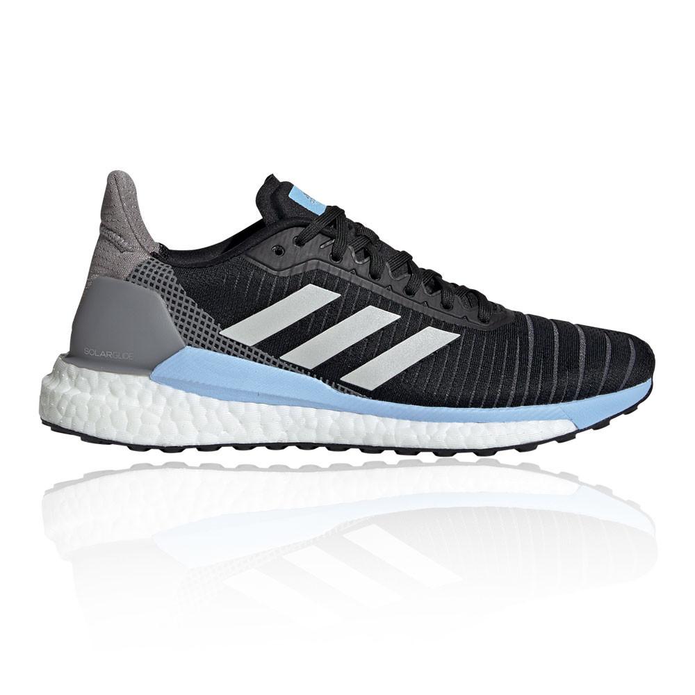 Dettagli su adidas Donna Solar Glide 19 Scarpe Da Corsa Ginnastica Sport Sneakers Nero