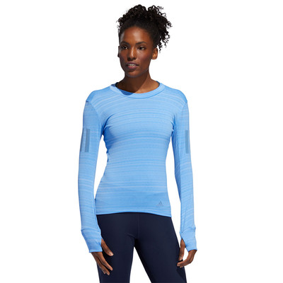 adidas Rise Up N Run Long Sleeved Women's Top - AW19