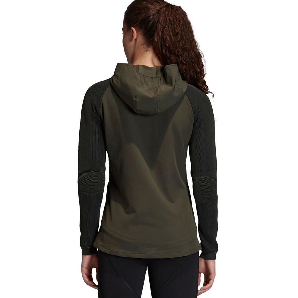 Détails sur Haut femme ADIDAS PHX Ii Running Veste Top Vert Sport Respirant Réfléchissant afficher le titre d'origine