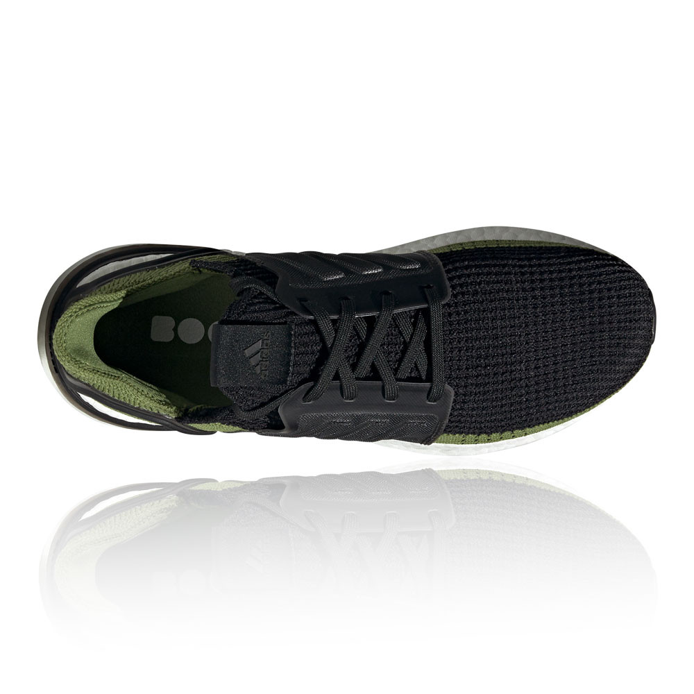 Details about adidas Mens UltraBOOST 19 Running Shoes Trainers Sneakers Black Green Sports