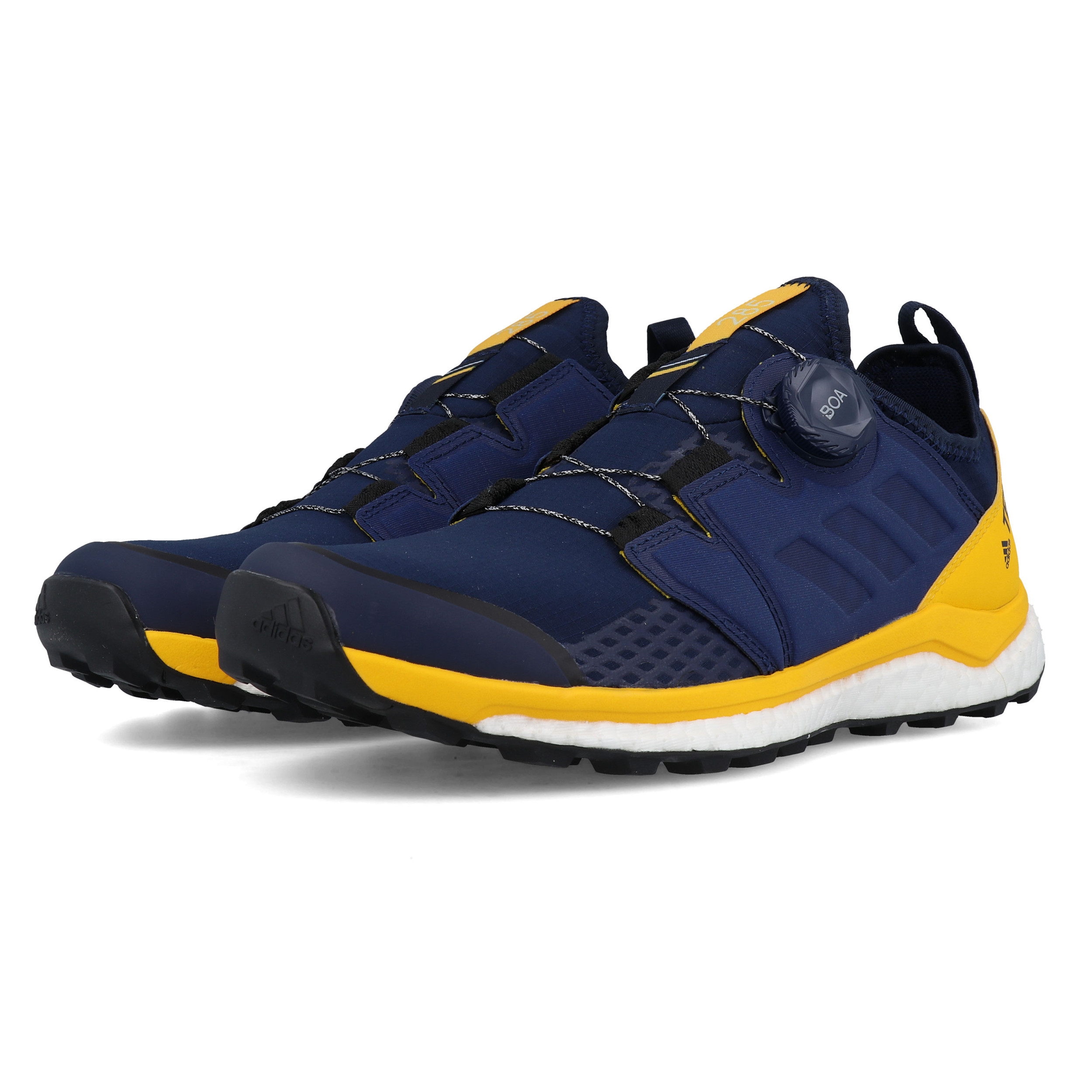 Details about adidas Mens Terrex Agravic Boa Trail Running Shoes Trainers Sneakers Blue Navy