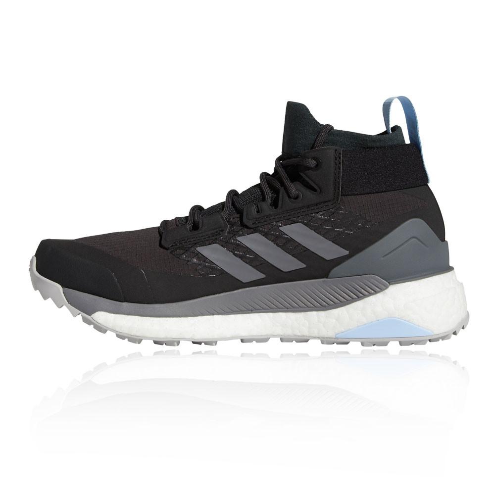 Détails sur adidas Femmes Terrex Free Hiker GORE TEX Chaussure De Marche Randonnée Noir