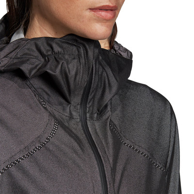adidas Terrex Primeknit Women's Rain Jacket - AW19