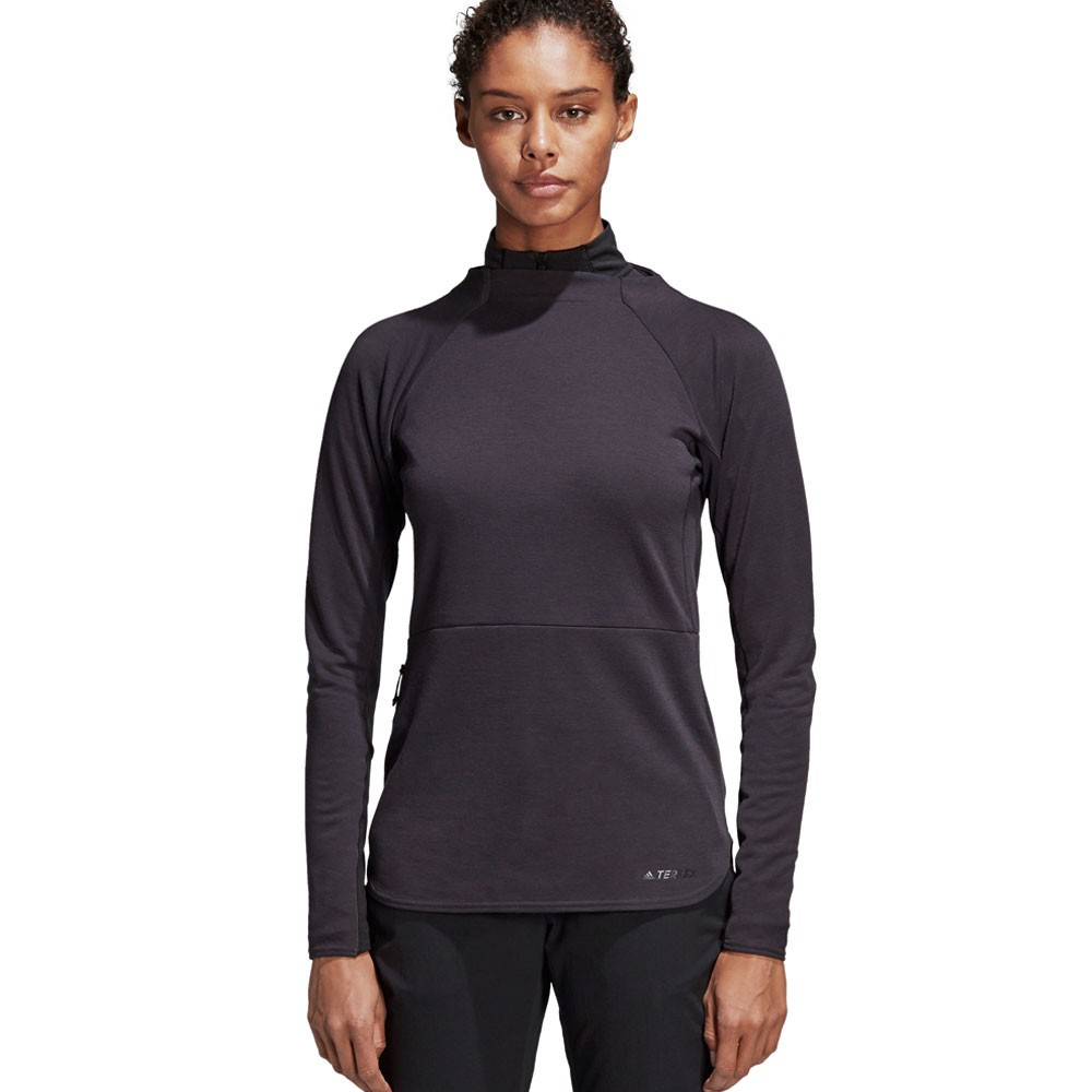 adidas Terrex Climb The City Women's Crew Neck Top - AW19