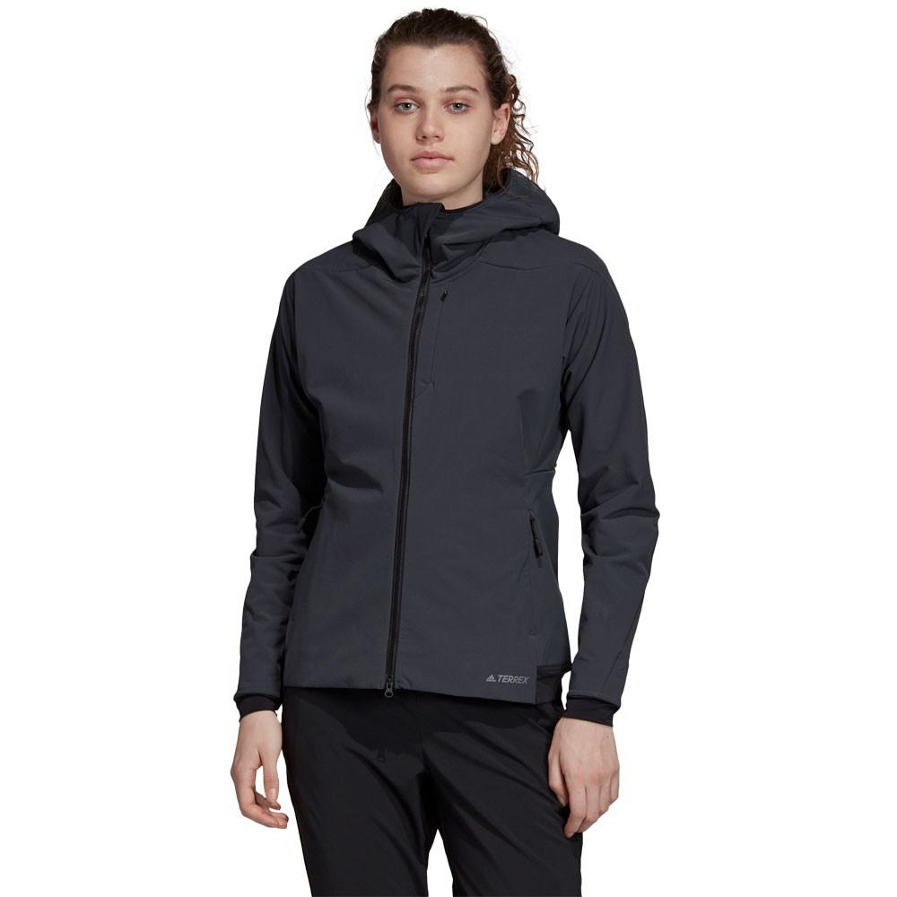 adidas Terrex ClimaHeat Ultimate Women's Hooded Fleece Jacket- AW19
