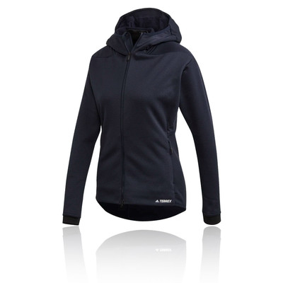 adidas Terrex ClimaHeat Hooded Fleece Women's Jacket- SS20