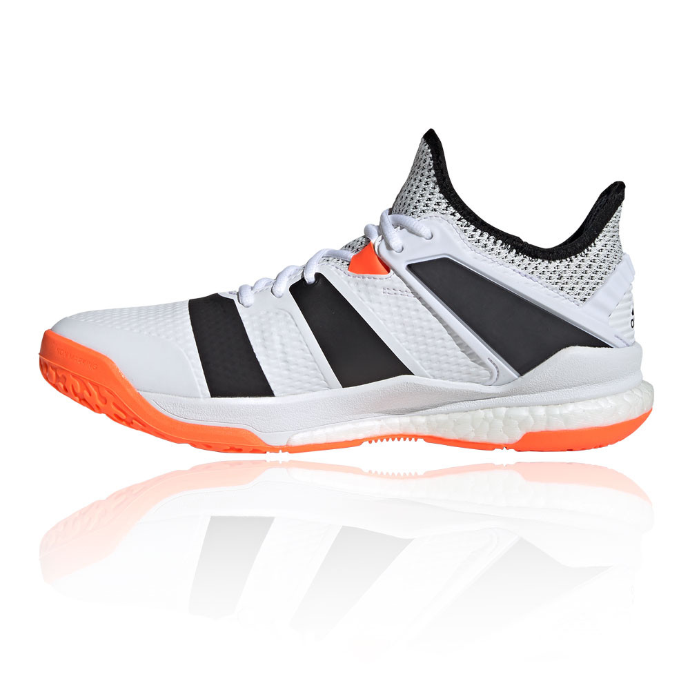 Details about adidas Mens Stabil X Indoor Court Shoes Trainers Sneakers White Tennis Handball