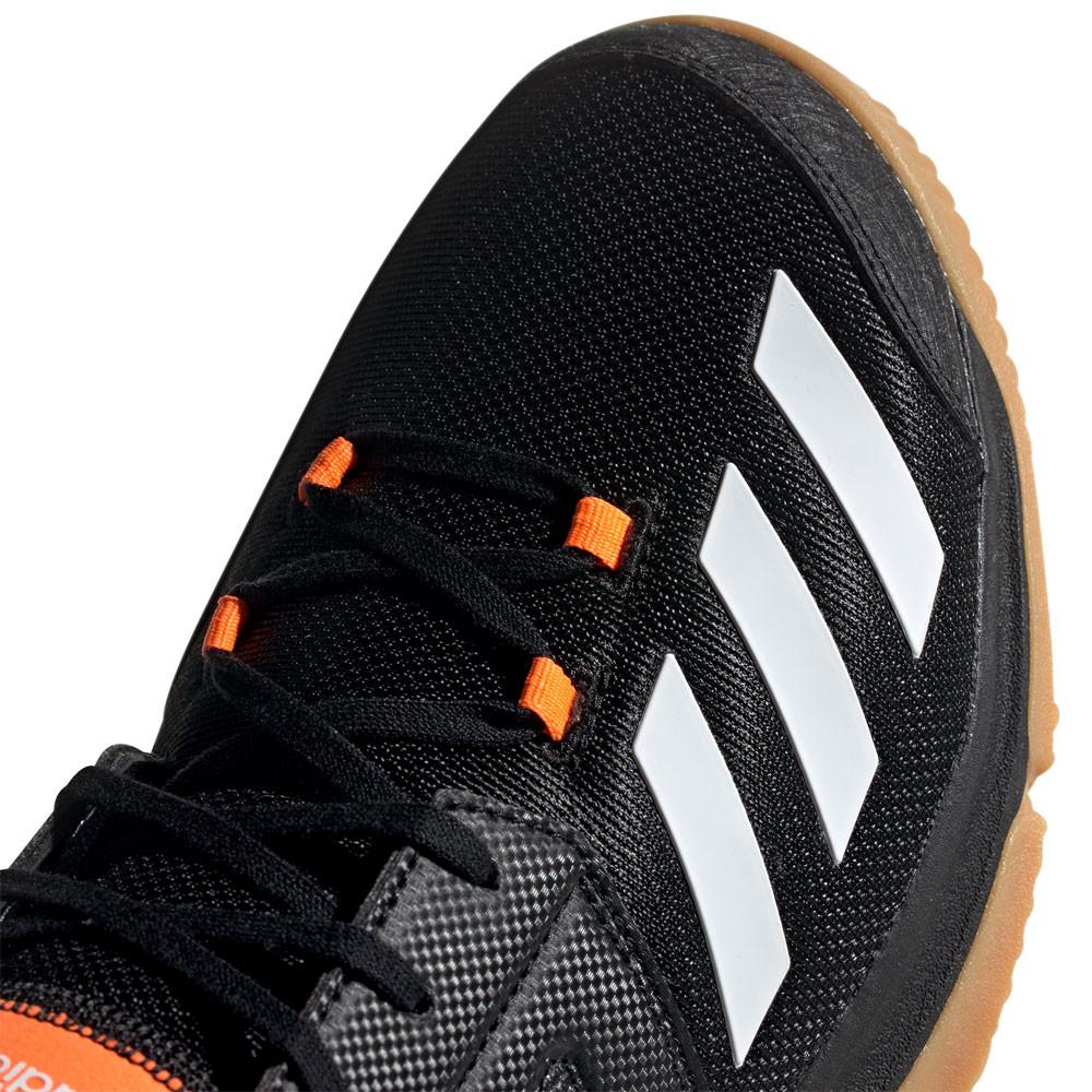 Détails sur adidas Hommes Essence Chaussures De Sport En Salles Baskets Noir Tennis