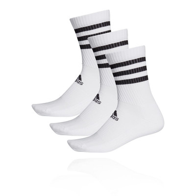 adidas 3-Stripes Cushioned Crew Socks (3-Pack) - AW19