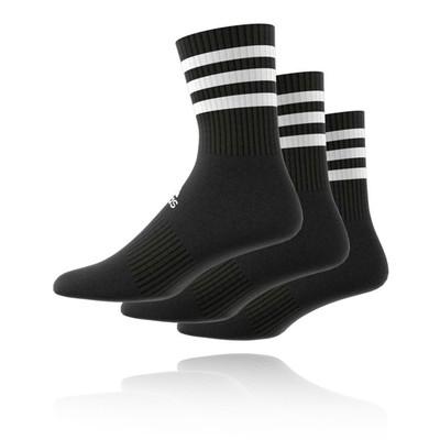 adidas 3-Stripes Cushioned Crew Socks  (3-Pack) - AW19