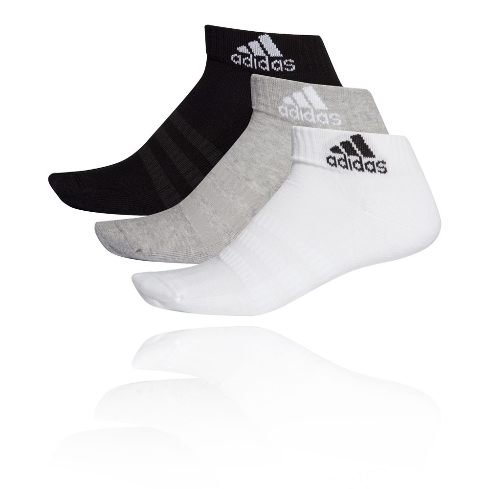 adidas Cushioned Ankle Socks (3-Pack) - AW19
