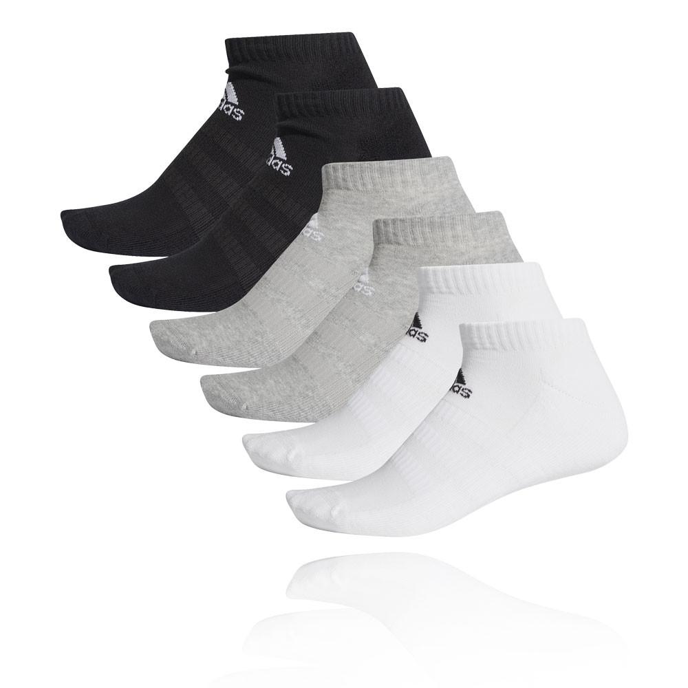 adidas Cushioned Low-Cut Socks (6-Pack) - AW19
