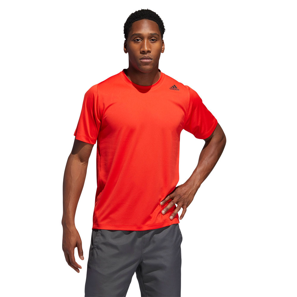 adidas FreeLift Sport Fitted Three Stripes T-Shirts - AW19