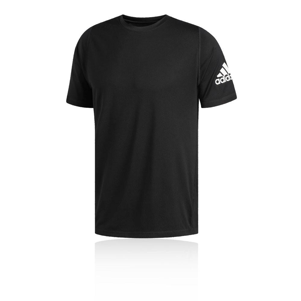 Détails sur adidas Hommes Freelift Sport Ultimate Solid T Shirt Tee Top Haut Running Noir