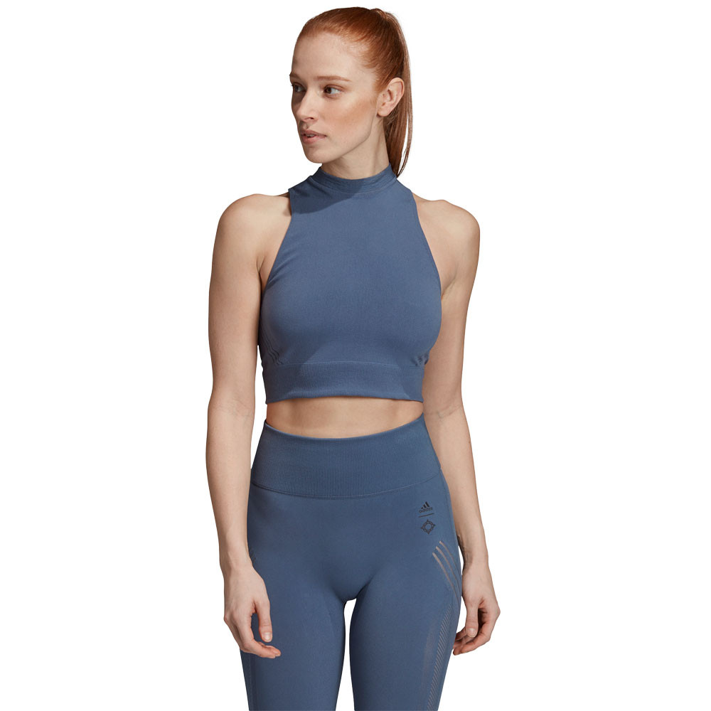 adidas Warpknit Wanderlust Damen Crop Top - AW19