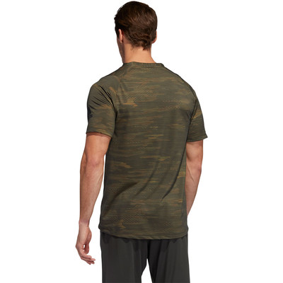 adidas FreeLift Camo paquete T-Shirt - AW19