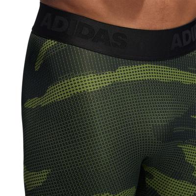 adidas Alphaskin Tech Camo paquete Long mallas  - AW19