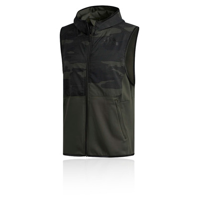 adidas Freelift Climaheat Camo Hooded Gilet - AW19