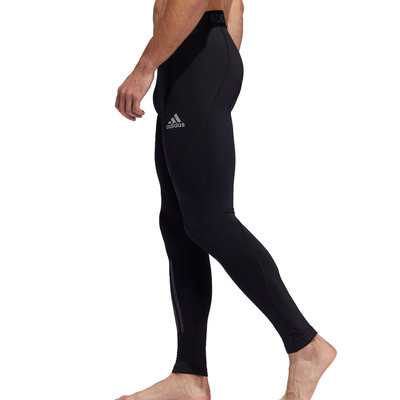 adidas Alphaskin Climawarm 3 Stripe Tights - AW19