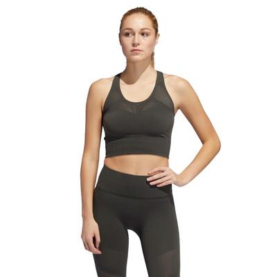 adidas Warp Knit para mujer Crop Top - AW19