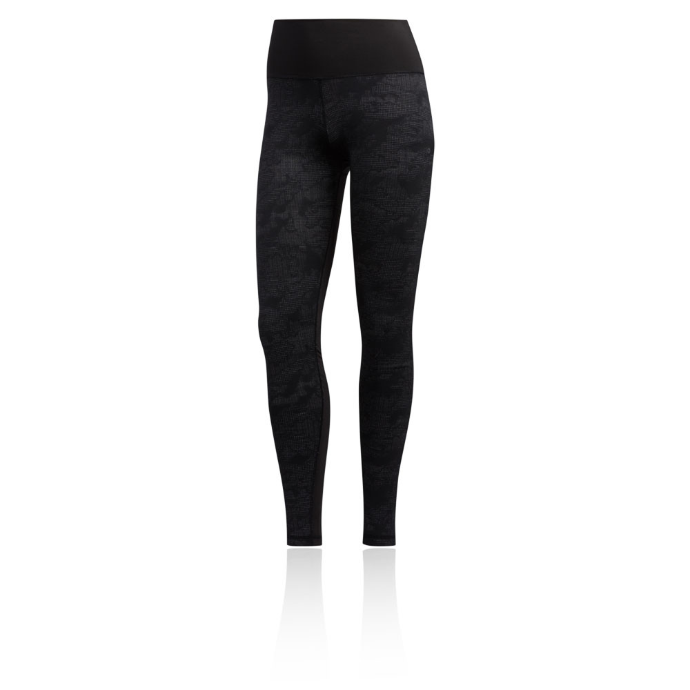 adidas Believe This Women's Jacquard Camo Tights - AW19
