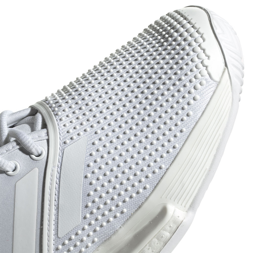 Dettagli su adidas Donna SoleCourt M X Parley Tennis Scarpe Bianco Sport Traspirante