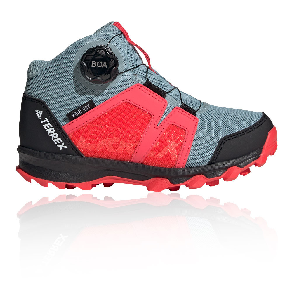 Details about adidas Boys Terrex BOA Mid R.RDY Walking Shoes - Black Red  Sports Outdoors