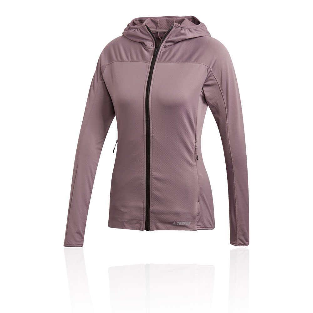 adidas TERREX TraceRocker Women's Hooded Fleece - AW20
