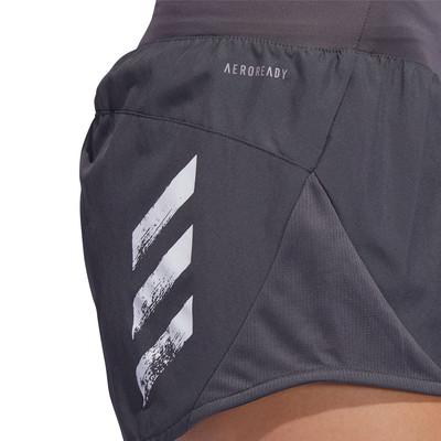 adidas Run It 3 Stripe para mujer pantalones cortos - SS20