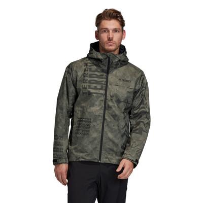 adidas Terrex Camo Rain Jacket - SS20