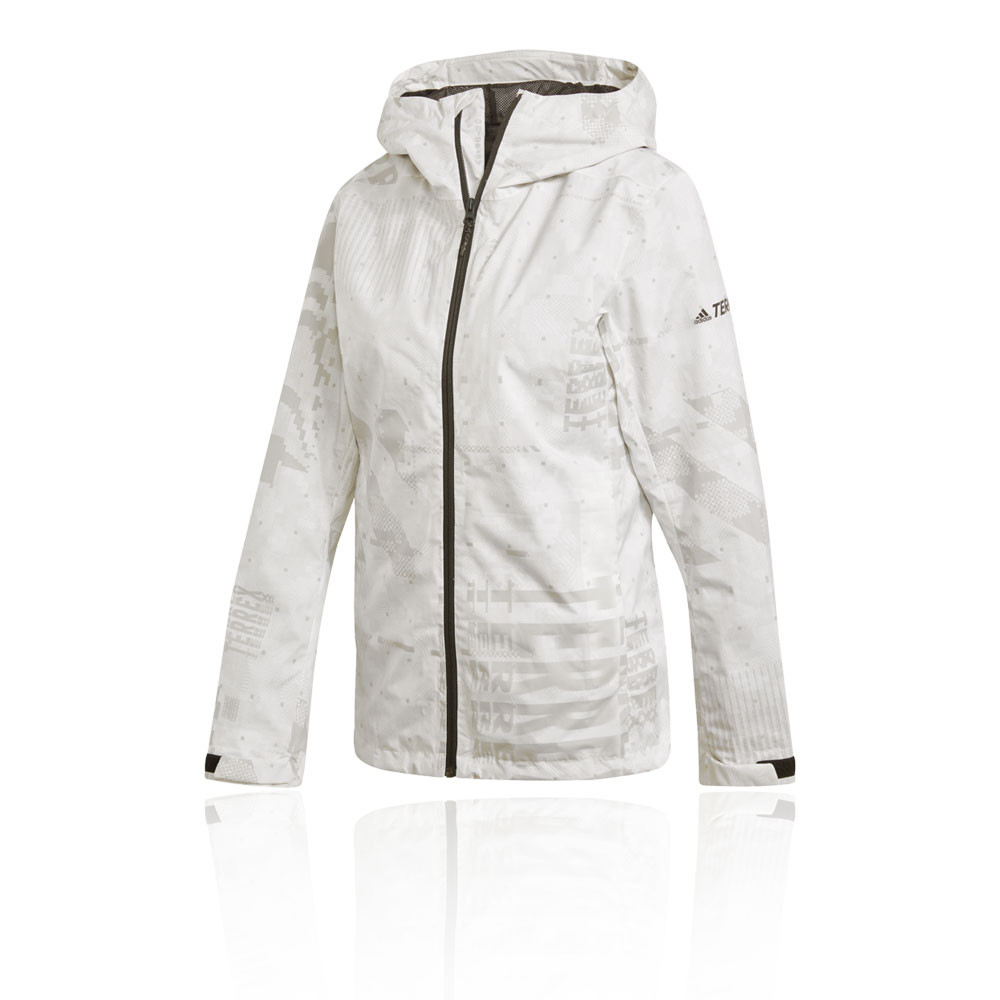 adidas Terrex Camo Rain Women's Jacket - SS20