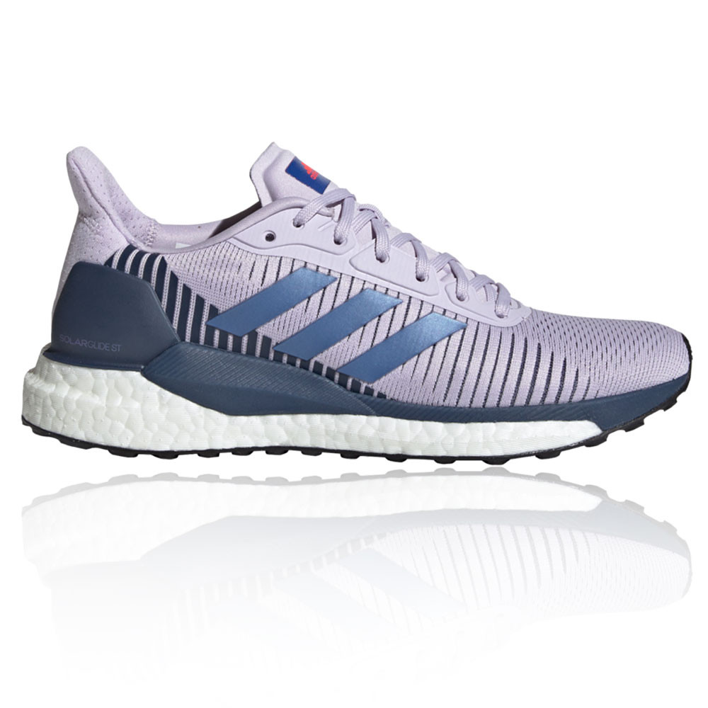 Details about adidas Womens Solar Glide ST 19 Running Shoes Trainers  Sneakers - Purple Sports