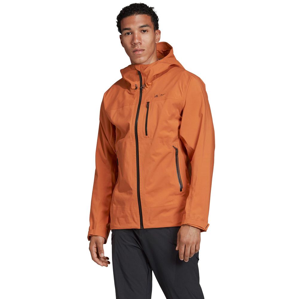 adidas Terrex Parley 3-layer 2.0 Rain Jacket - AW19