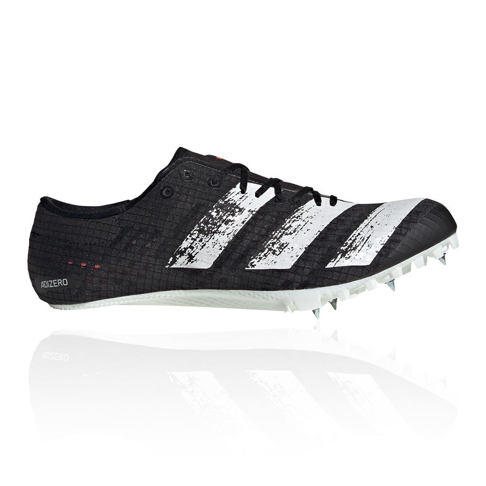 Details about adidas Mens adizero Finesse Running Spikes Traction Black Sports Breathable