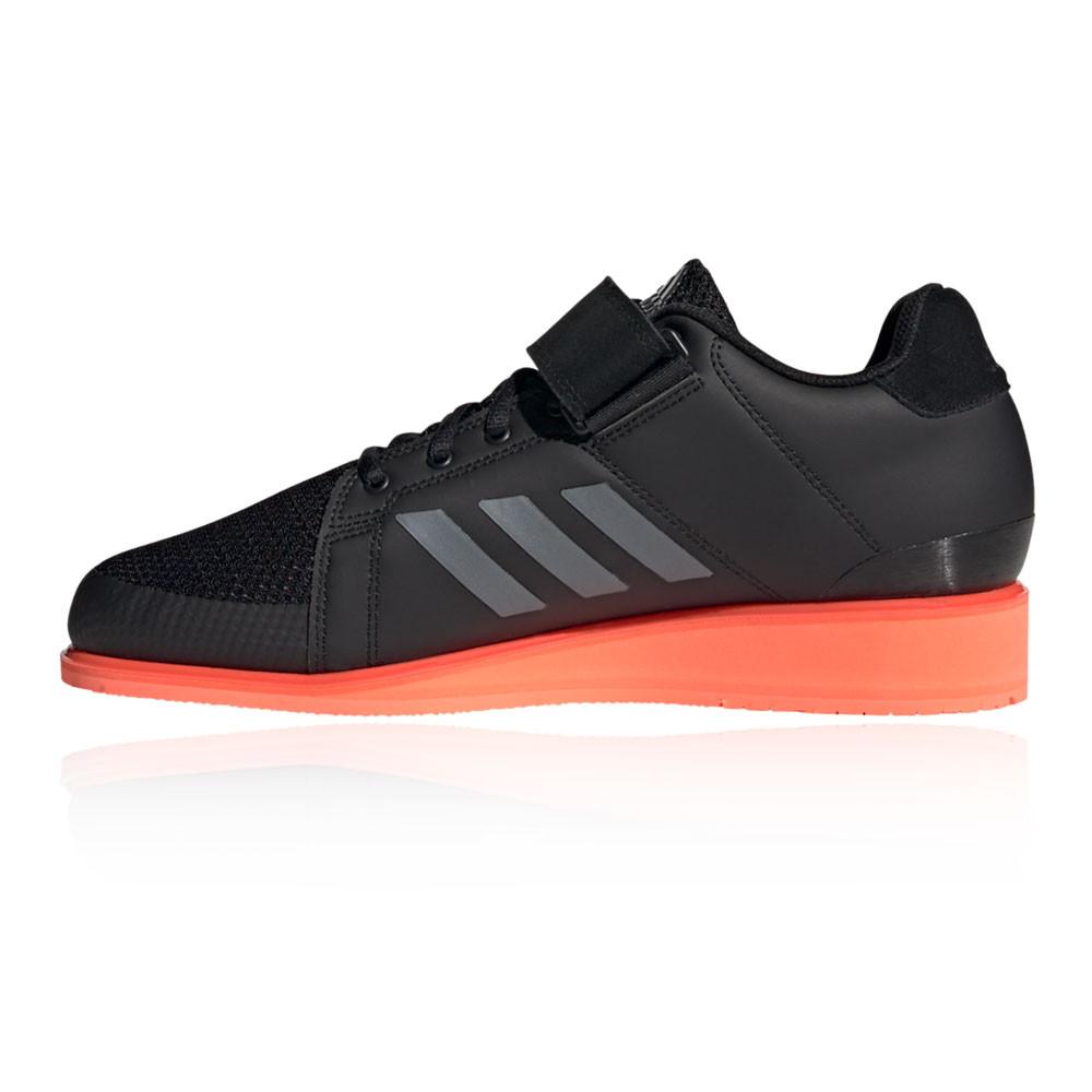 Détails sur adidas Hommes Power Perfect III Baskets Chaussures De Haltérophilie Noir Sport